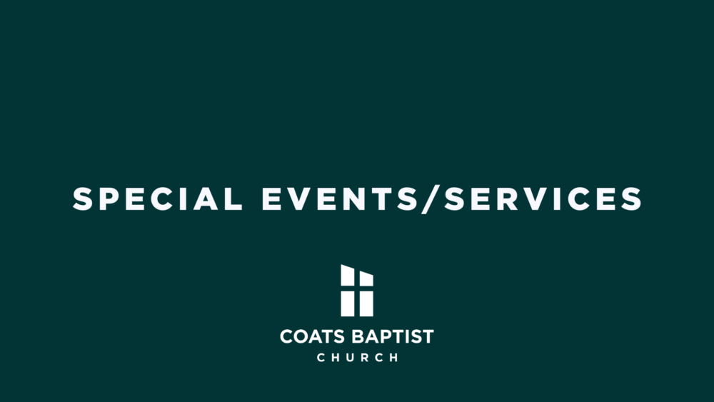Special Events/Services